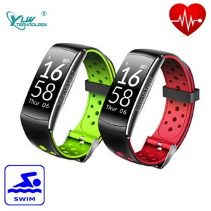 YLW BL20 OLED Screen Smart Bracelet wtih Heart Rate Monitor Waterproof IP68