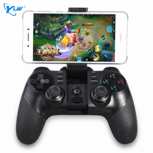 YLW MG12-Z Wireless Bluetooth Joystick Gamepad For iOS Android Phone Game Controller With Stand 2.4G Receiver