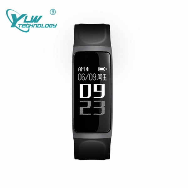 YLW BL12 Smart Bracelet wtih Blood pressure & Oxygen & Heart Rate Monitor Waterproof IP67