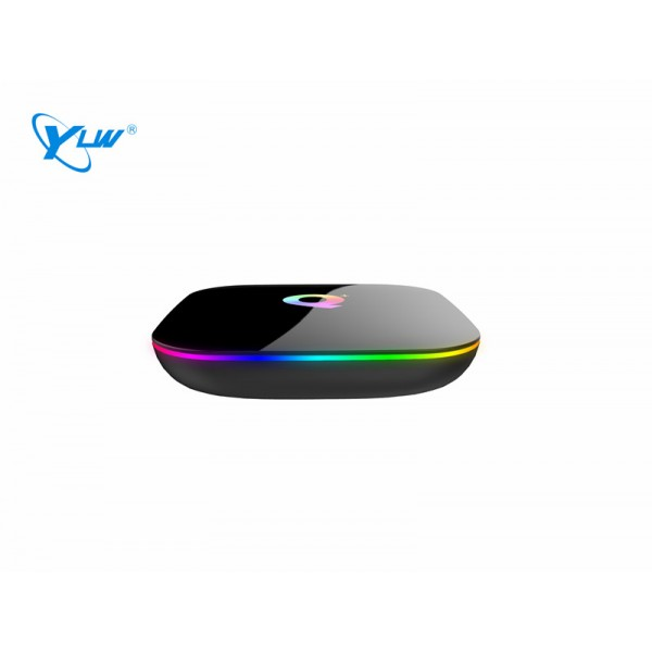 YLW Q Plus -H6  4+64  Configuration 4GB DDR3 Run Make Sure You Watch TV And Play Games Smoothly Adopts The Latest Cutting-Edge DDR Memory TV Box